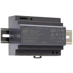 Sieťový zdroj na montážnu lištu (DIN lištu) Mean Well HDR-150-12, 1 x, 12 V/DC, 135.6 W