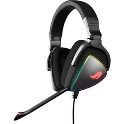 Asus ROG Delta herný headset s USB, USB-C káblový cez uši čierna