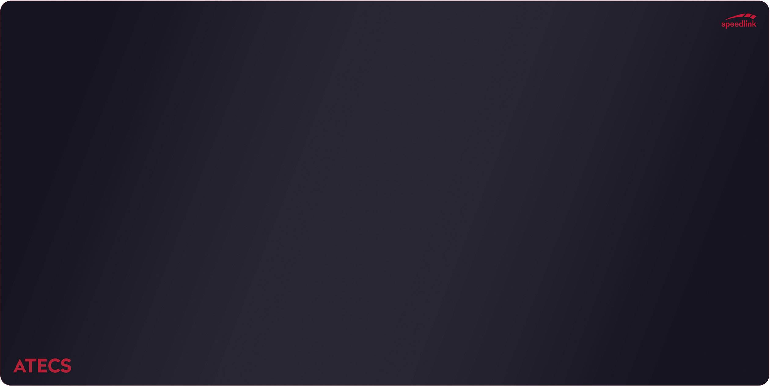 SPEEDLINK ATECS Soft Gaming Mousepad Mauspad Schwarz Size M