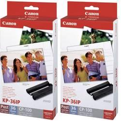 Image of Canon KP-36IP (2x) 7737A001 Fotodrucker Kassette (Tinte/Papier) 1 Set