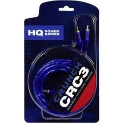 Cinch kábel Crunch CRC3, 3 m, modrá