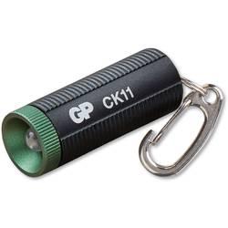 LED svetlo na kľúče GP Discovery CK11 260GPACTCK11000, 11.5 g, na batérie, čierna