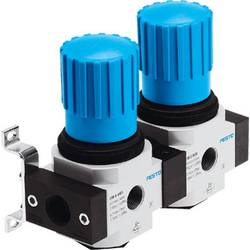 Image of FESTO Druckregelventil-Batterie 528952 LRB-1/4-D-7-O-K2-MINI G 1/4, G 1/5 Gehäusematerial Zinkdruckguss