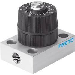 Image of FESTO Druckregelventil 542023 GRP-160-1/8-AL G 1/8, G 1/9 Gehäusematerial PA Dichtungsmaterial NBR, PVC 1 St.