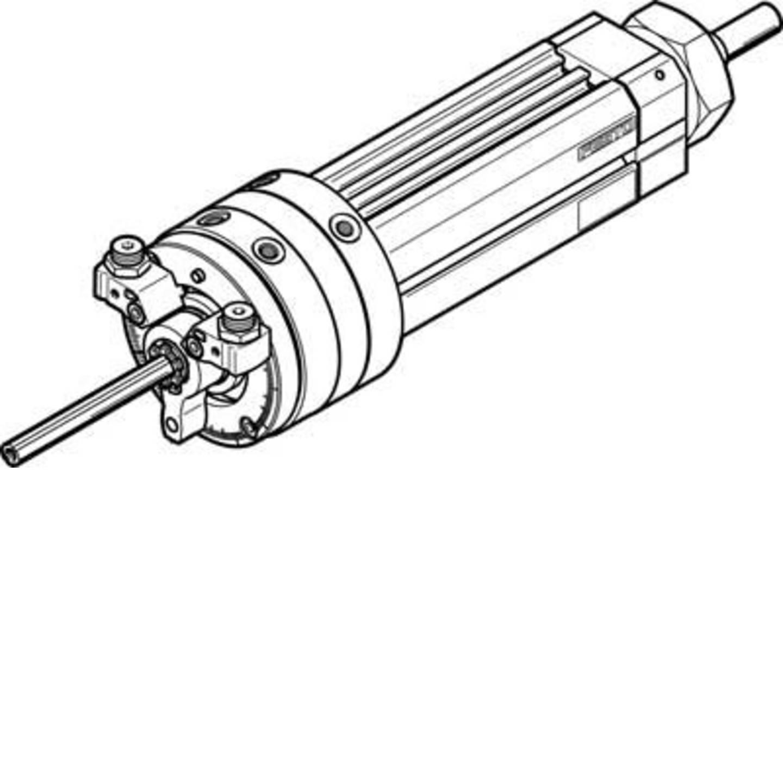 FESTO Schwenk-Lineareinheit 556696 DSL-32-40-270-P-A-S2-KF-B Gehäusematerial: Aluminium-Knetlegierung 1 St.