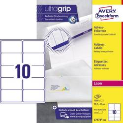 Image of Avery-Zweckform L7173-100 Etiketten 99.1 x 57 mm Papier Weiß 1000 St. Adress-Etiketten, Universal-Etiketten Laser, Kopie