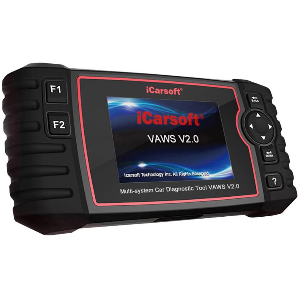 icarsoft OBD II diagnosetool VAWS V2.0 icvaw2 Geschikt voor (automerken): Universal Onbeperkt