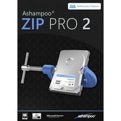 Image of Ashampoo ZIP PRO 2 Vollversion, 3 Lizenzen Windows Multimedia-Software