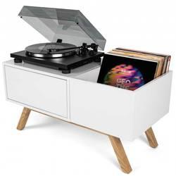 Moiblní stôl pre DJ Glorious DJ Turntable Lowboard, MDF