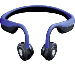 Bluetooth® sluchátka Lenco BCH-1000 BCH-1000BU, černá, modrá