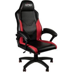 Herné stoličky Nitro Concepts C100, NC-C100-BR, čierna, červená