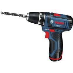 Aku vŕtací skrutkovač Bosch Accessories GSR 12V-15 060186810F, 12 V, Li-Ion akumulátor