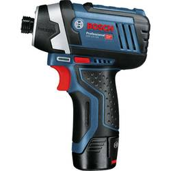 Aku rázový skrutkovač a uťahovák Bosch Professional GDR12V-105 06019A6906, 12 V, Li-Ion akumulátor