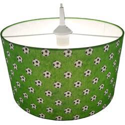 Závesné svietidlo futbal Niermann 113, E27, 60 W, úsporná žiarovka, LED , zelená