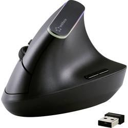 Optická Wi-Fi myš Renkforce RF-FMV-ME-0001 RF-4262986, USB konektor, čierna