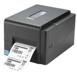 Tlačiareň štítkov termálna s priamou tlačou , termotransferová TSC TE210, Šírka etikety (max.): 112 mm, USB, RS-232, LAN