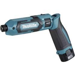 Aku vŕtací skrutkovač Makita TD022DSE TD022DSE, 7.2 V, 1.5 Ah, Li-Ion akumulátor
