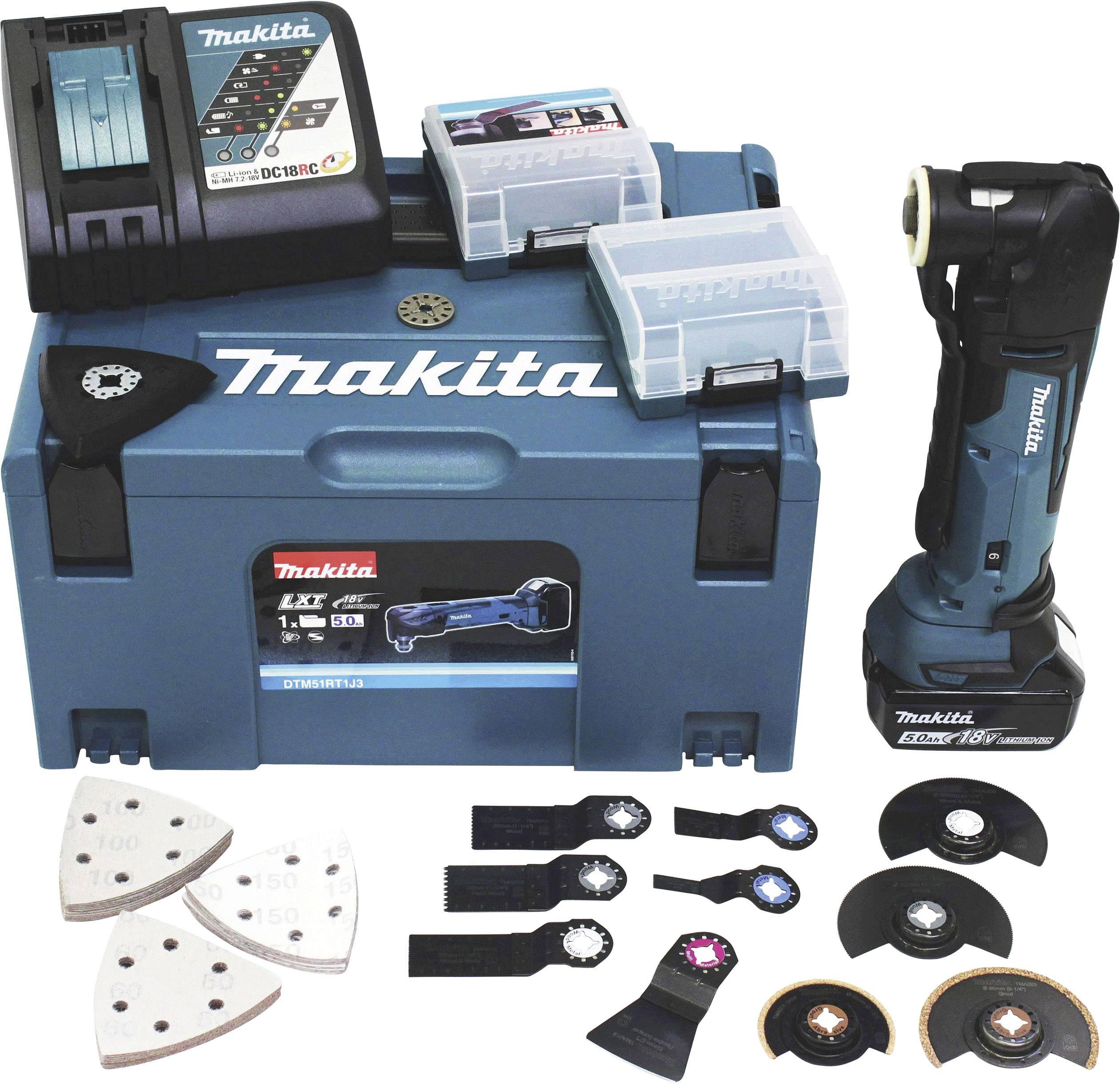 Makita Multifunktionswerkzeug DTM51Z 18V DTM51 ohne Akku und Ladegerät Multitool