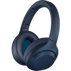 Bluetooth cestovné slúchadlá Over Ear Sony WH-XB900N WHXB900NL.CE7, modrá