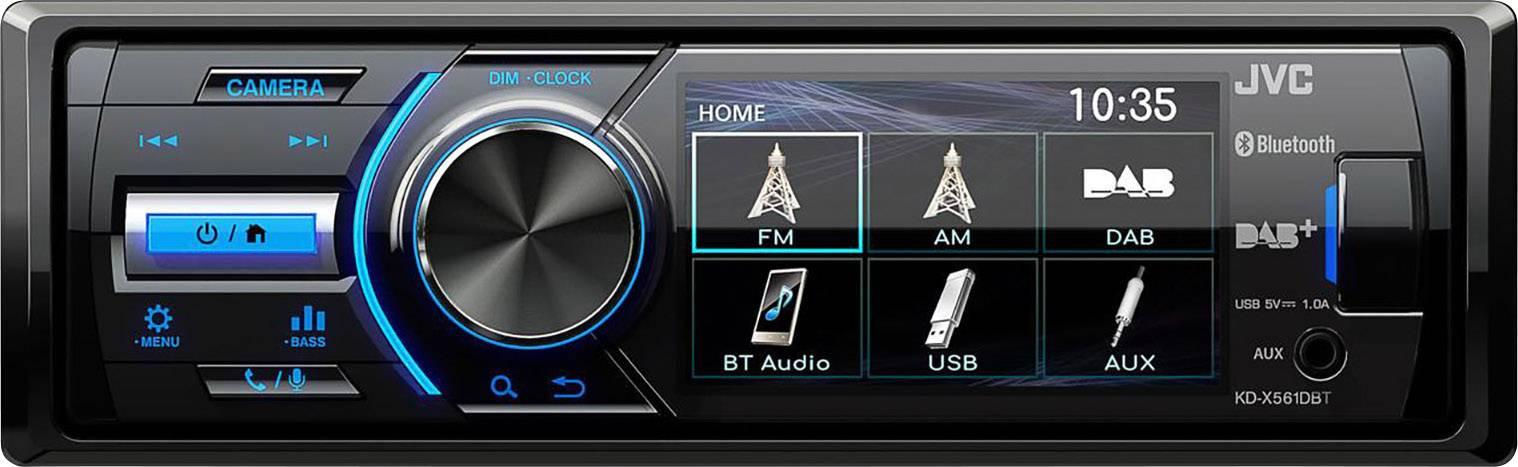 sainchargny.com Front USB AUX-IN Tuner ohne CD-LW JVC KD-X451DBT ...