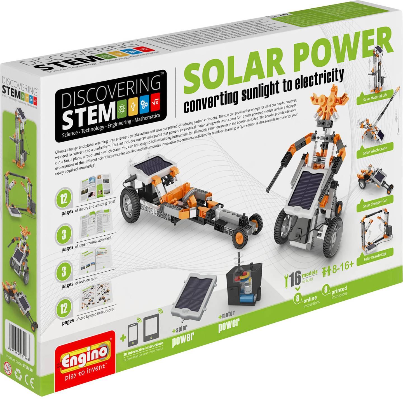 Engino Discovering STEM Bausatz Solarenergie