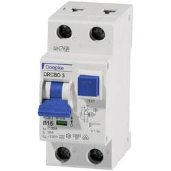 Prúdový chránič/elektrický istič Doepke 09932102, 1-pólový, 10 A, 0.03 A, 230 V