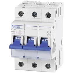 Elektrický istič Doepke 09914293, 3-pólové, 16 A, 230 V, 400 V