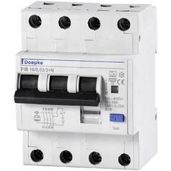 Prúdový chránič/elektrický istič Doepke 09955104, 3-pólové, 16 A, 0.03 A, 230 V, 400 V