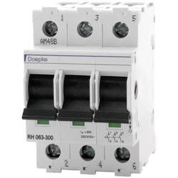 Ochranný spínač pre hlavný kábel Doepke 09981062, 3-pólové, 63 A, 240 V, 415 V