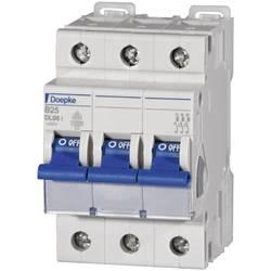 Elektrický istič Doepke 09916115, 3-pólové, 25 A, 230 V, 400 V