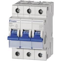 Elektrický istič Doepke 09914111, 3-pólové, 10 A, 230 V, 400 V