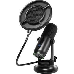 Stojan USB štúdiový mikrofón Thronmax M2KIT, káblový, podstavec, vr. kábla, vr. svorky, vr. tašky, vr. ochrany proti vetru