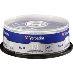 M-DISC Blu-ray 25 GB Verbatim vreteno, 98909, 25 ks