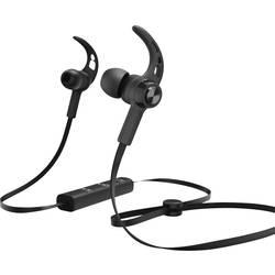 Bluetooth športové štupľové slúchadlá Hama Connect 184020, čierna