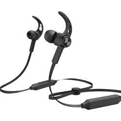 Bluetooth športové štupľové slúchadlá Hama Balance 184021, čierna