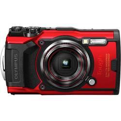 Digitálny fotoaparát Olympus Tough TG-6, 12 MPix, optický zoom: 4 x, červená
