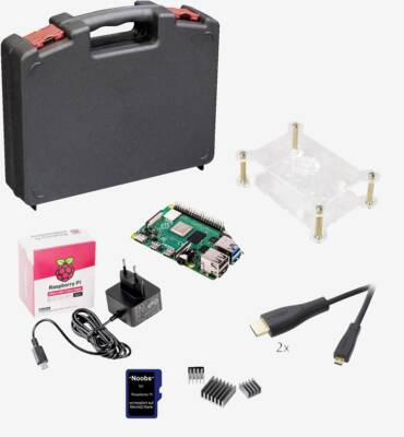 Raspberry set with case