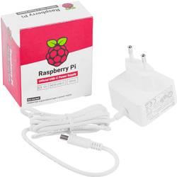 Image of Raspberry Pi® Steckernetzteil, Festspannung Passend für: Raspberry Pi Ausgangsstrom (max.) 3000 mA 1 x USB-C™ Stecker
