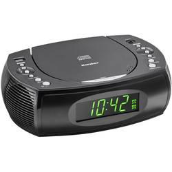 FM rádio s CD prehrávačom Karcher UR 1308, čierna