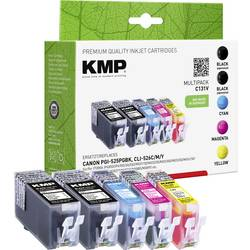 Kompatibilná sada náplní do tlačiarne KMP C131V 1513,0055, čierna, zelenomodrá, purpurová, žltá