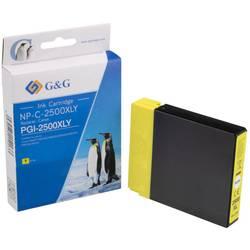 Kompatibilná náplň do tlačiarne G&G NP-C-2500XLY 1C2500Y, žltá