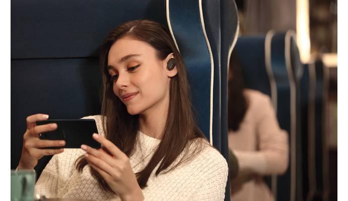 Intigrierte Geräuschunterdrückung für Entspannung an lauten Umgebungen