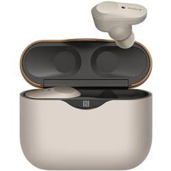 True Wireless štupľové slúchadlá Sony WF-1000XM3 WF1000XM3S.CE7, strieborná