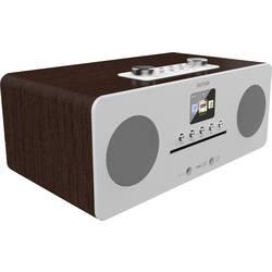 N/A Denver MIR-260, AUX, Bluetooth, CD, NFC, internetové rádio, drevo (tmavé)