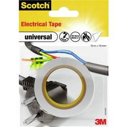 Izolačná páska 3M universal 4401WHT, (d x š) 10 m x 15 mm, biela, 1 ks