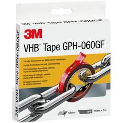 Lepiaca páska 3M GPH-060F19-3, (d x š) 3 m x 19 mm, sivá, 3 m