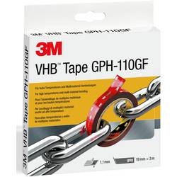 Lepiaca páska 3M GPH-110F19-3, (d x š) 3 m x 19 mm, sivá, 3 m