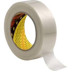 Vláknitá lepiaca páska 3M 8956 89565050, (d x š) 50 m x 50 mm, priehľadná, 1 ks