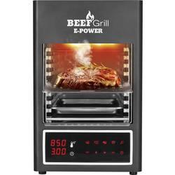 Elektrický gril GourmetMaxx 8681 8681, 1600 W, čierna