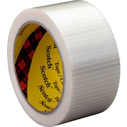 Vláknitá lepiaca páska 3M 89595050, (d x š) 50 m x 50 mm, priehľadná, 1 ks
